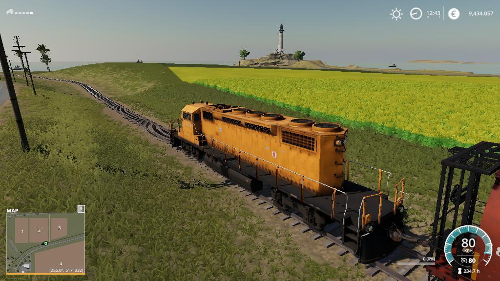 Switch To Trains v1 0 0 0 Mod - Farming Simulator 19 Mod / FS19