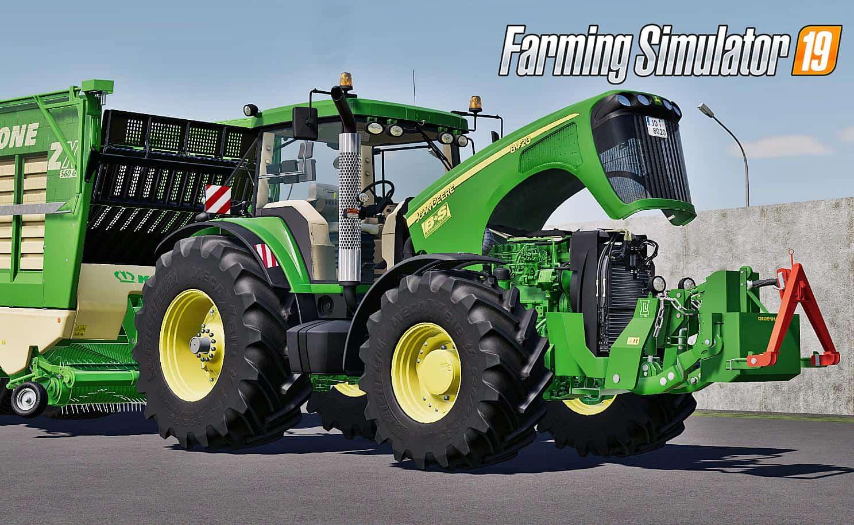 John Deere 8020 Series v1 0 Mod - Farming Simulator 19 Mod / FS19