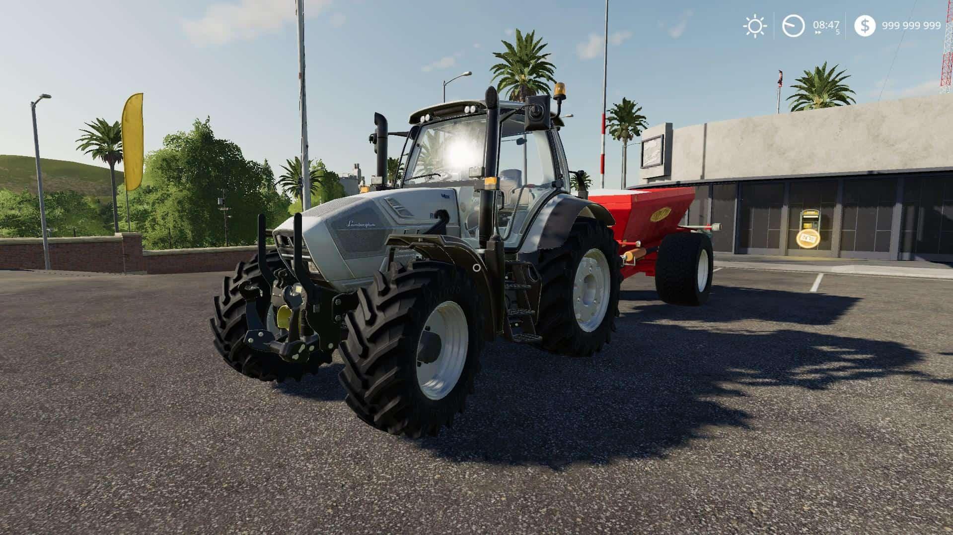 Lamborghini R6 T4i VRT v1 0 0 0 Mod - Farming Simulator 19 Mod / FS19