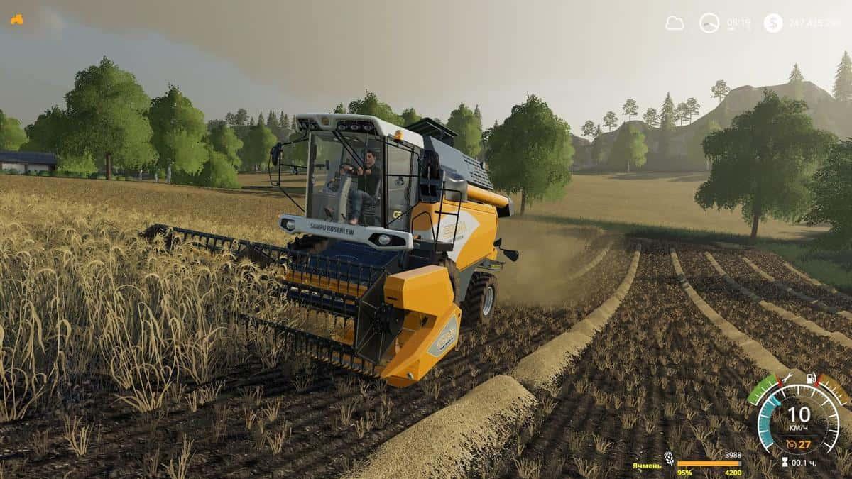 Sampo Rosenlew Comia v1 2 0 5 Mod - Farming Simulator 19 Mod