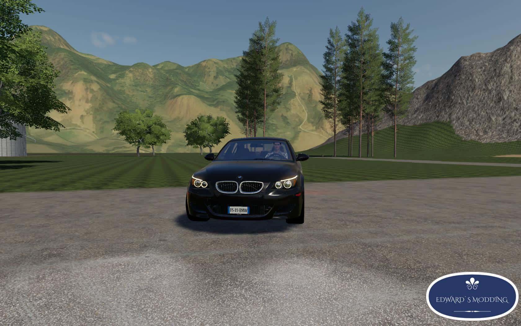 BMW M5 E60 v1 0 Mod - Farming Simulator 19 Mod / FS19