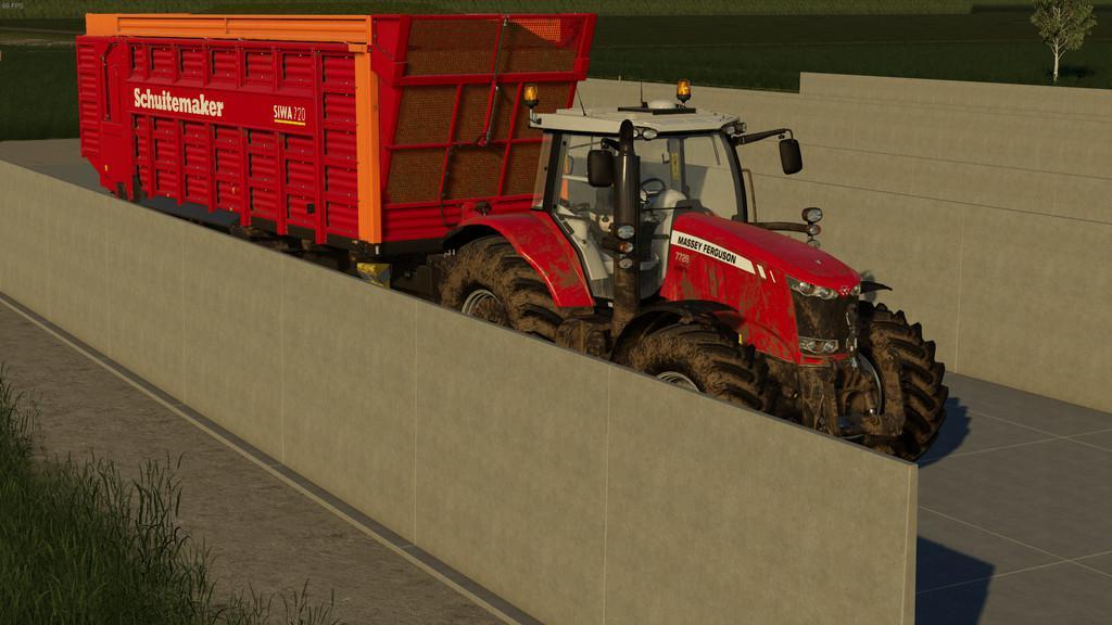 Bunker Silo v1 0 0 0 Mod - Farming Simulator 19 Mod / FS19
