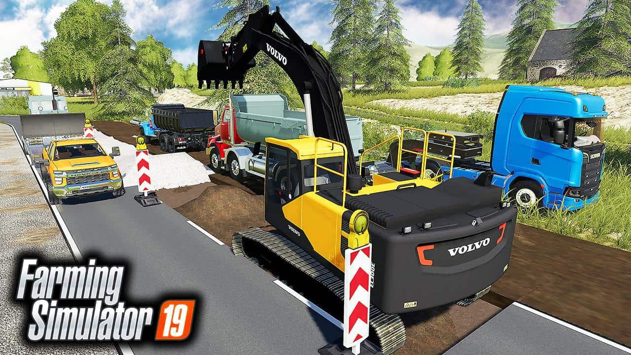 Fixing Road Pack v1 0 0 0 - Farming Simulator 19 Mod / FS19