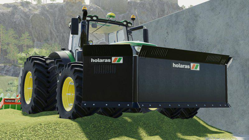 Holaras MES 400 pack v1 0 0 0 Mod - Farming Simulator 19 Mod