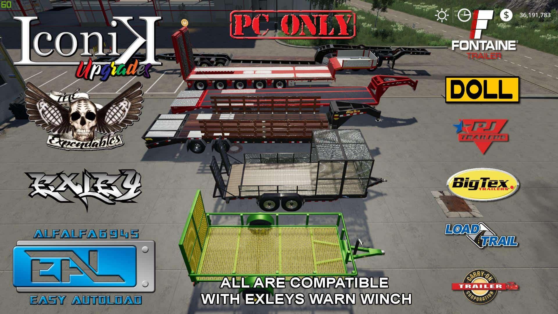 Iconik EAL Haulers v2 0 Mod - Farming Simulator 19 Mod / FS19