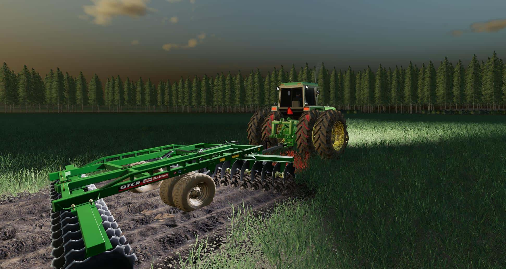 John Deere 4640 v1 0 0 1 Mod - Farming Simulator 19 Mod / FS19