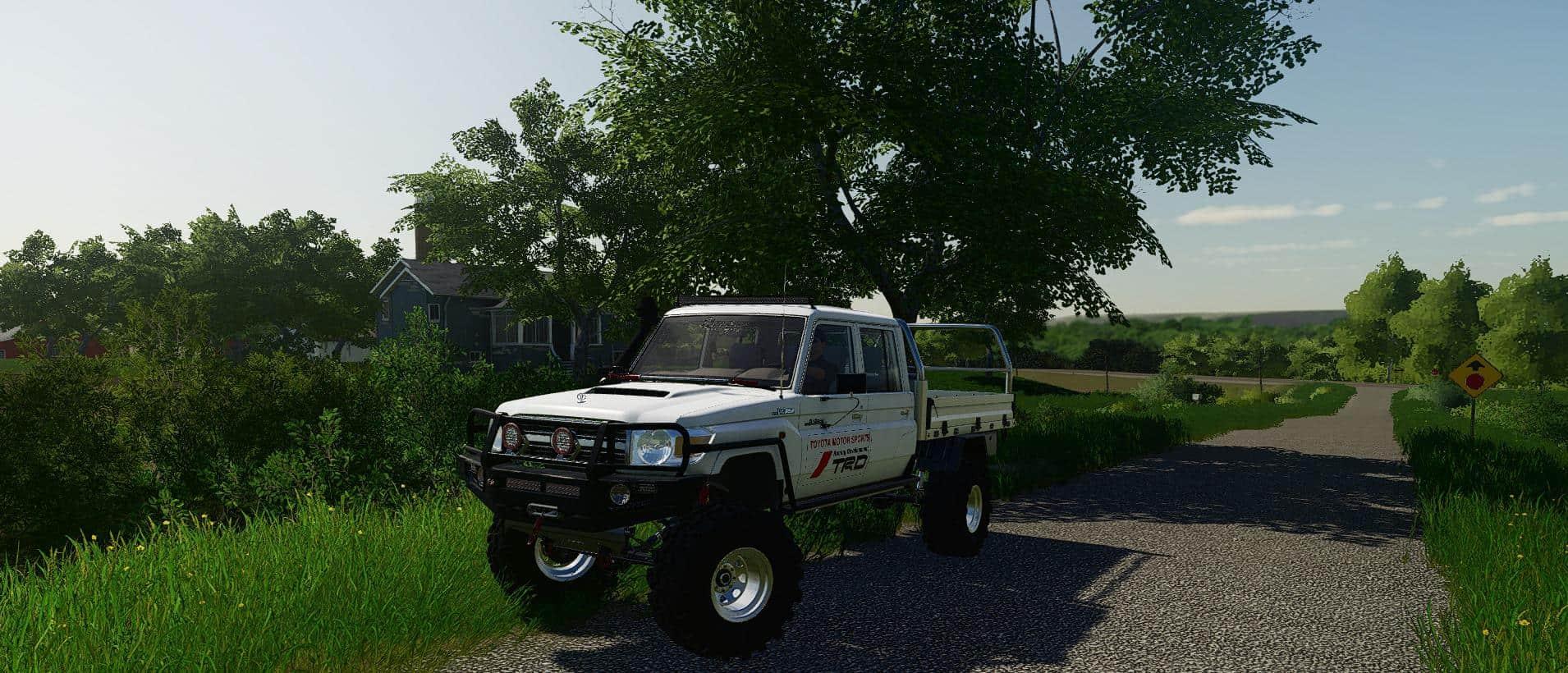 Toyota Land Cruiser 70 v1 0 Mod - Farming Simulator 19 Mod
