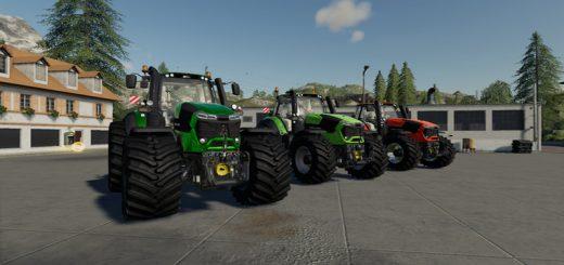 MB trac 800-900 v1 0 0 0 Mod - Farming Simulator 19 Mod / FS19