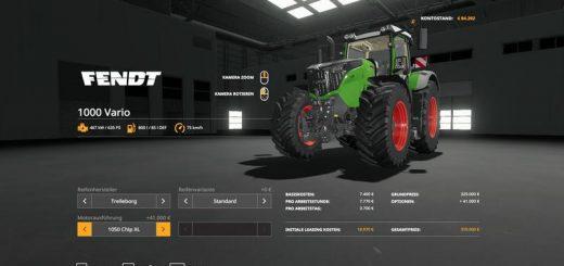 Fendt Vario Mods - Farming Simulator 19 Mods | FS19 Mods