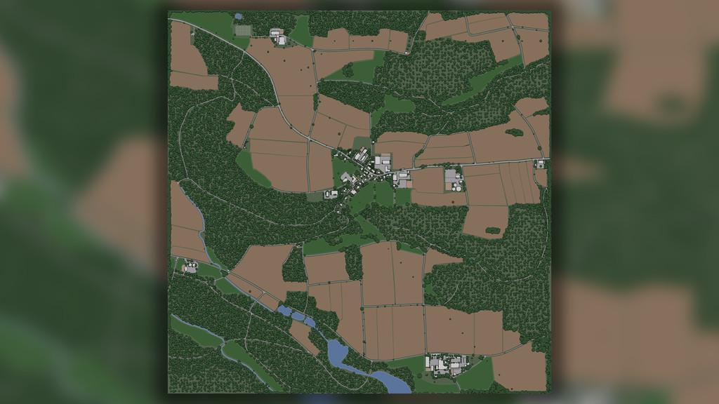 Geiselsberg Map v1 0 0 0 Mod - Farming Simulator 19 Mod / FS19