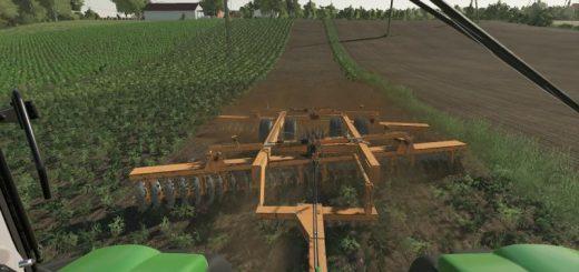 John Deere 2410 5 section plow v1 0 Mod - Farming Simulator 19 Mod