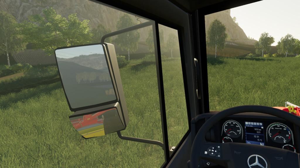 Mercedes Unimog U5000 6x6 Pack v2 0 Mod - Farming Simulator 19 Mod