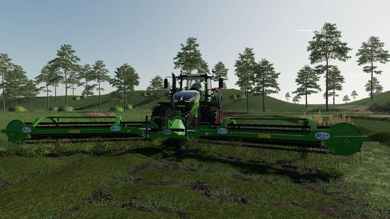 Rake Nadal R90 front v1 0 0 0 Mod - Farming Simulator 19 Mod