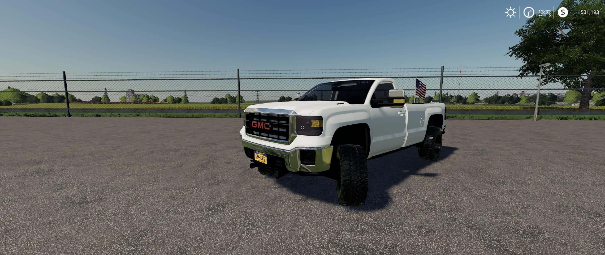 2015 GMC 3500 v2 0 0 0 Mod - Farming Simulator 19 Mod / FS19