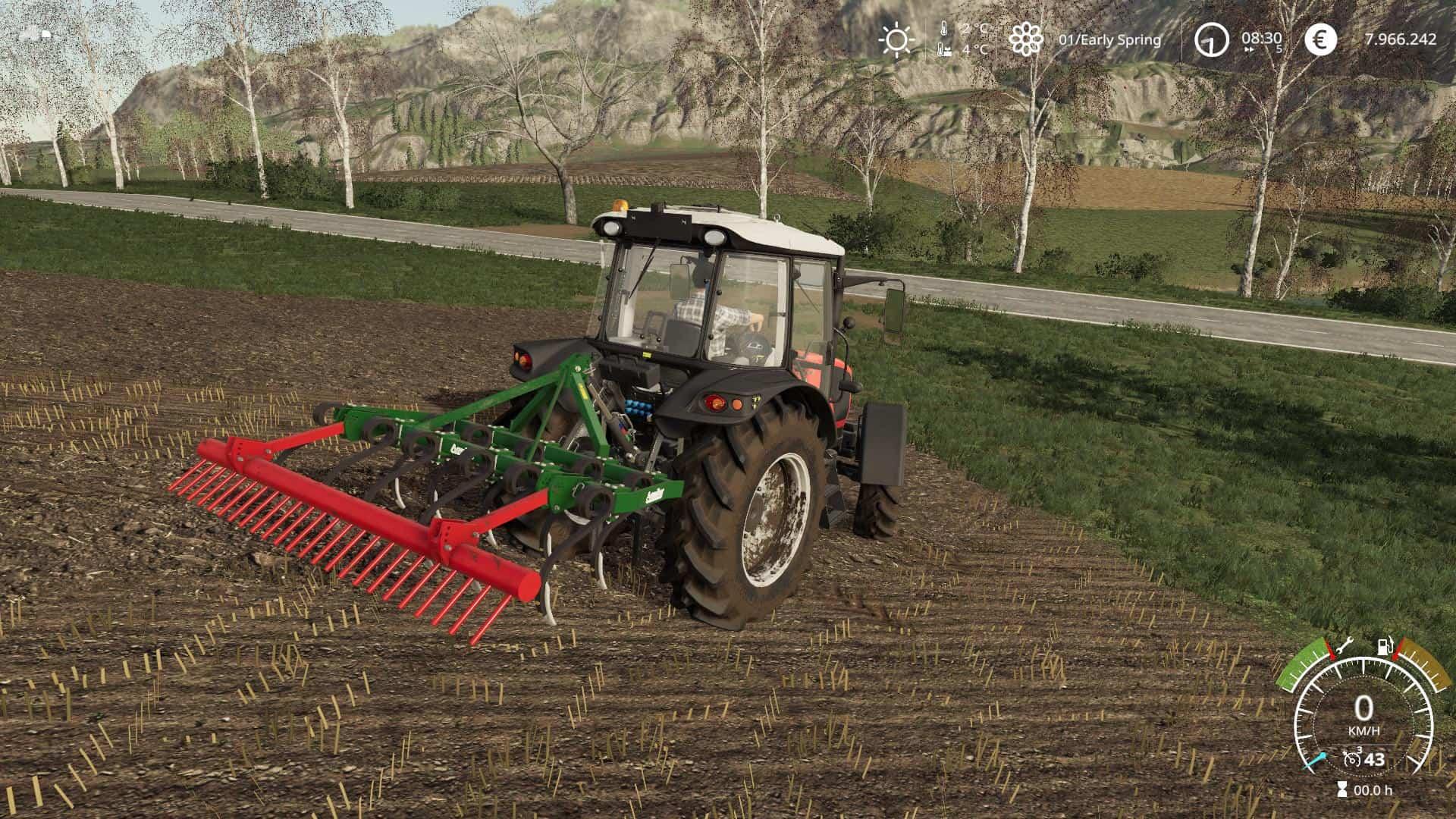 Aguilar 11 brazos v1 0 Mod - Farming Simulator 19 Mod / FS19