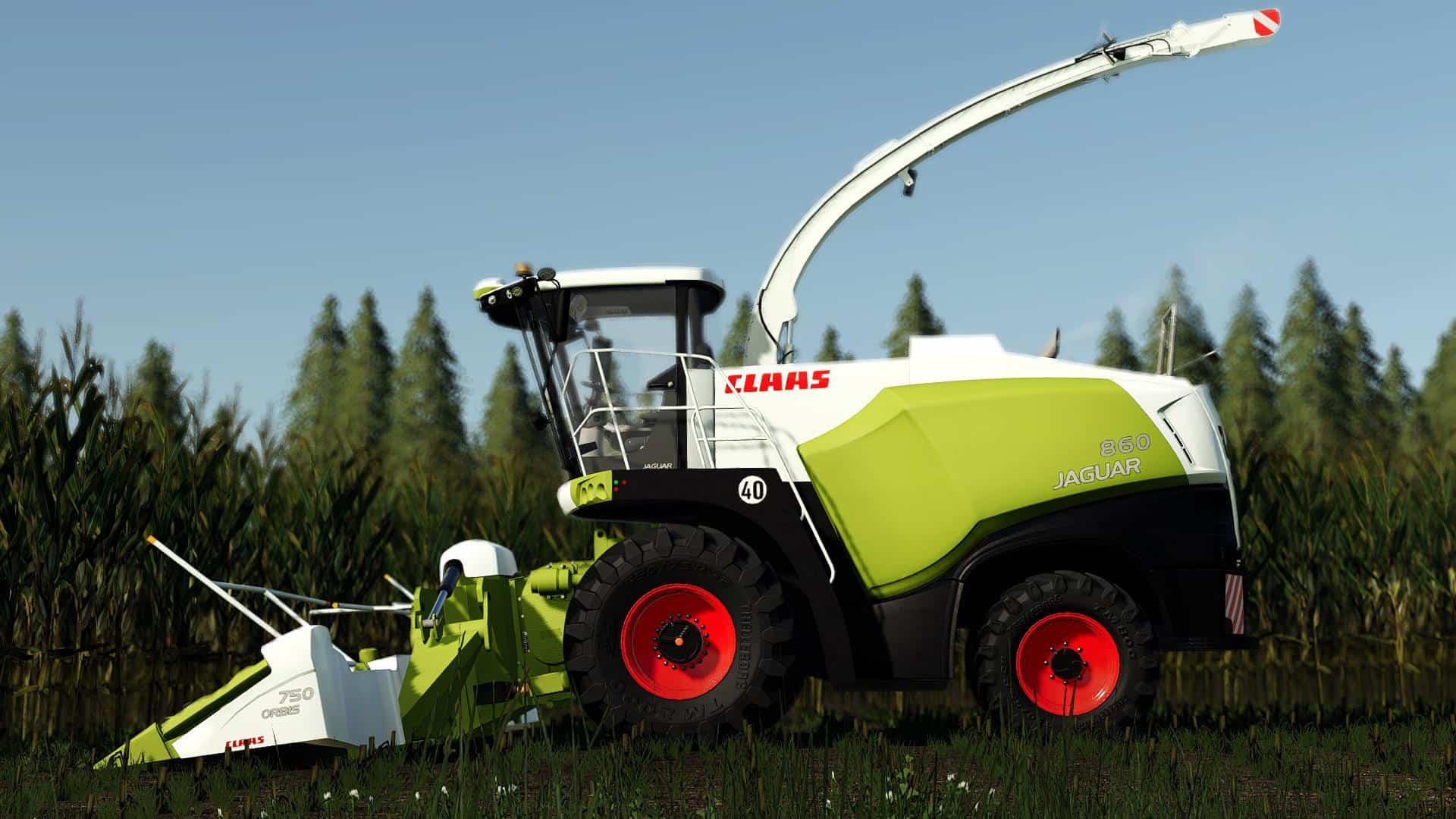 Claas Jaguar 800 Pack v1 0 0 5 Mod - Farming Simulator 19