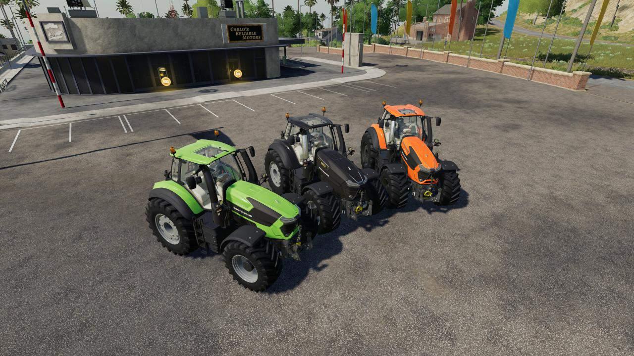 Deutz Fahr 9 Series v1 0 0 0 Mod - Farming Simulator 19 Mod / FS19