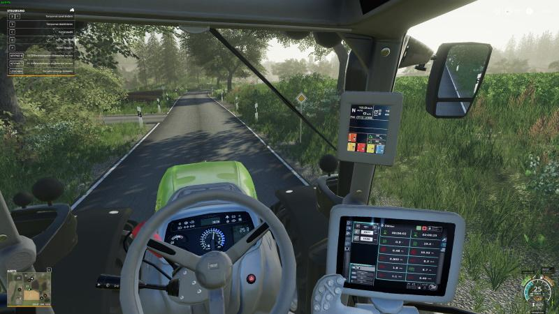 Deutz-Fahr Series 7 HD Interior v1 0 0 1 Mod - Farming