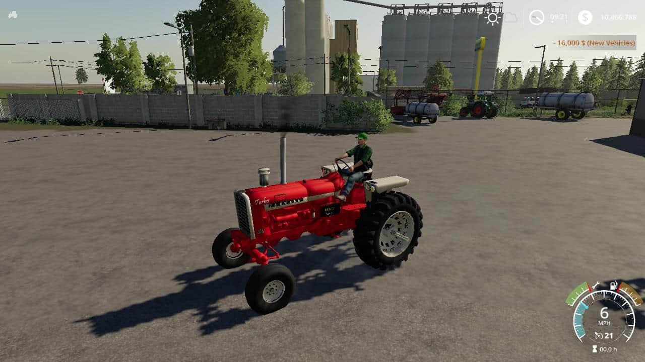 Farmall 1206 v1 0 Mod - Farming Simulator 19 Mod / FS19