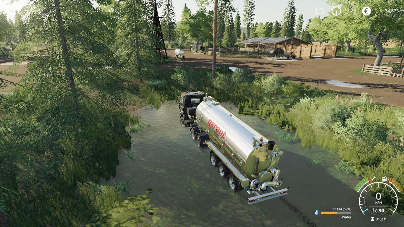 Fenton Forest 4x Map - Farming Simulator 19 Mod / FS19