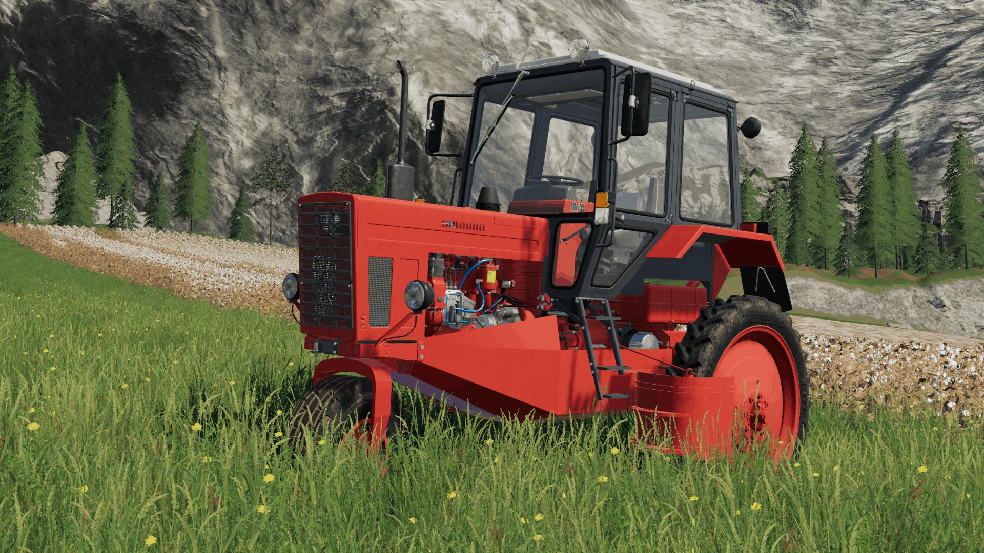 Harsvester MTZ80 for cotton Mod - Farming Simulator 19 Mod
