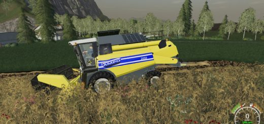 Farming Simulator 19 Combines mods   FS19 Harvester mods download