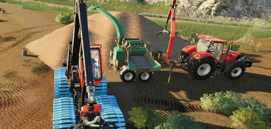 How To Sell Wood Chips Farming Simulator 19 How To Sell Wood Chips Fs19