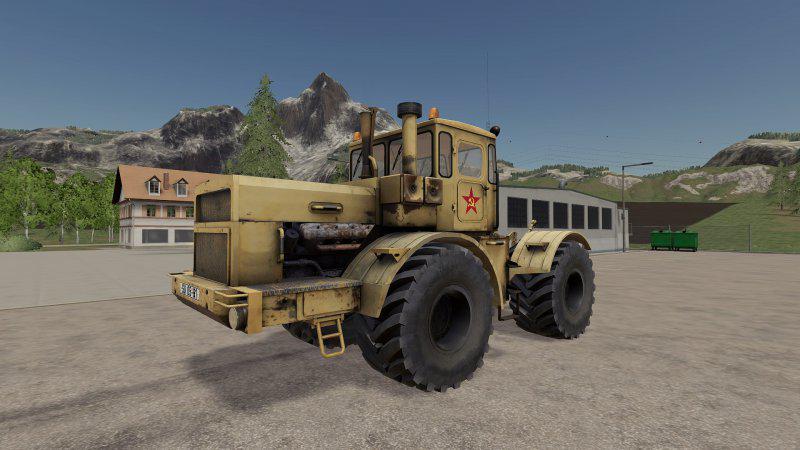 Kirovez K-700 v1 0 0 0 Mod - Farming Simulator 19 Mod / FS19