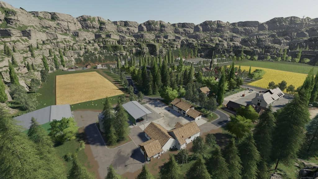 Minibrunn Map v2 0 0 0 Mod - Farming Simulator 19 Mod / FS19
