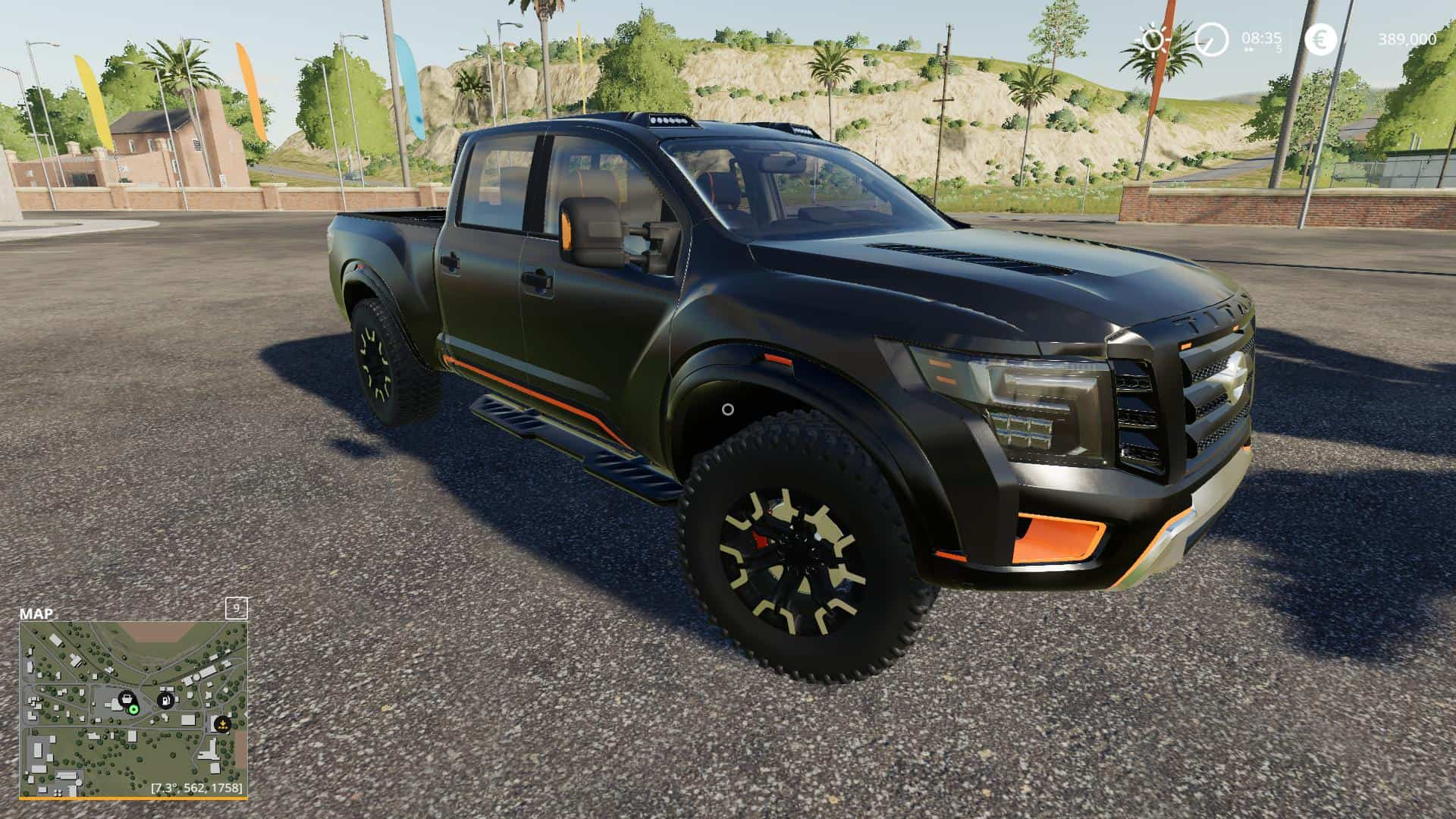 Nissan Titan Warrior Price >> Nissan Titan Warrior V2 5 Mod Farming Simulator 19 Mod Fs19