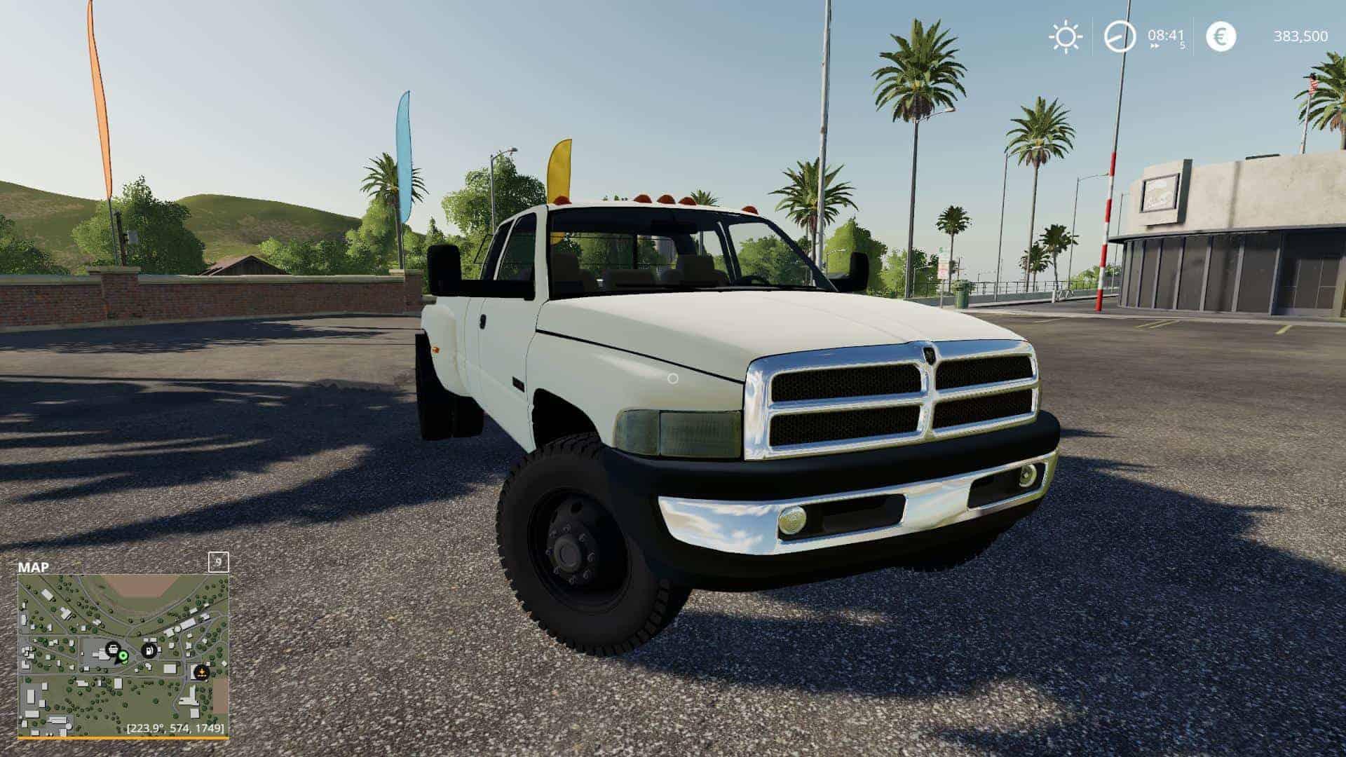 2nd Gen Dodge Ram 3500 V2 0 Mod Farming Simulator 19 Mod Fs19