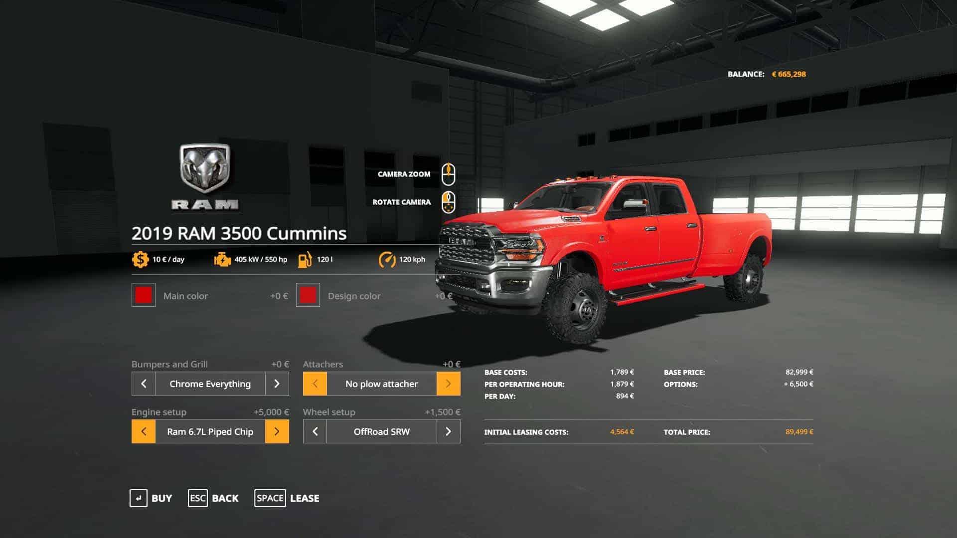 Dodge Ram 3500 Drw Srw Revised V3 1 1 Mod Farming Simulator 19 Mod Fs19