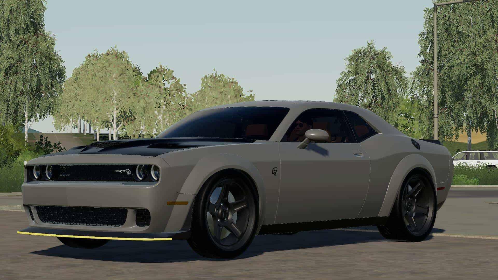 2020 Dodge Challenger Widebody V3 0 Mod Farming Simulator 19 Mod Fs19