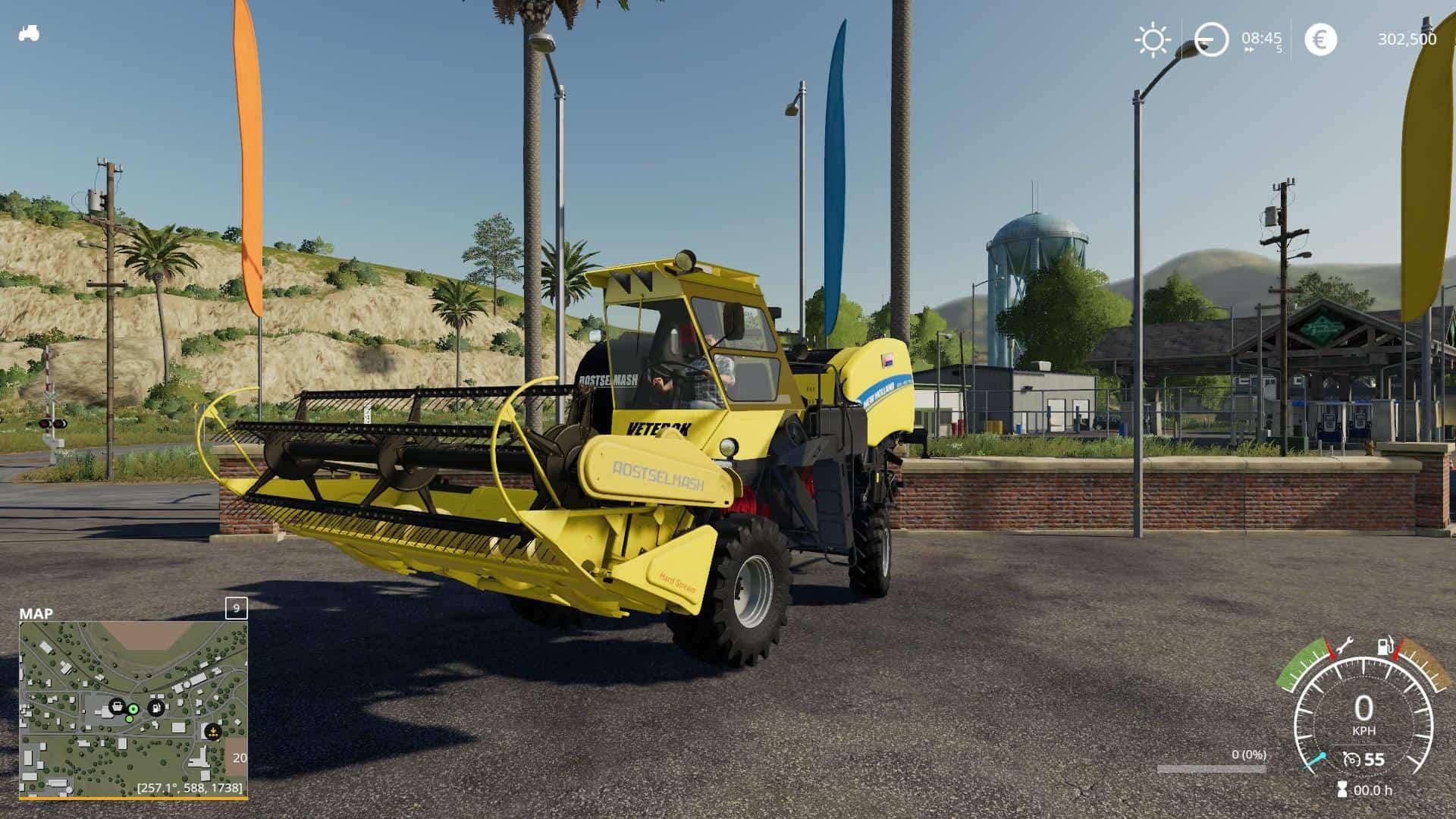 rostselmash new holland round cotton bale v1 0 0 0 mod farming simulator 19 mod fs19
